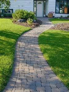 25 best ideas about stone walkways on pinterest