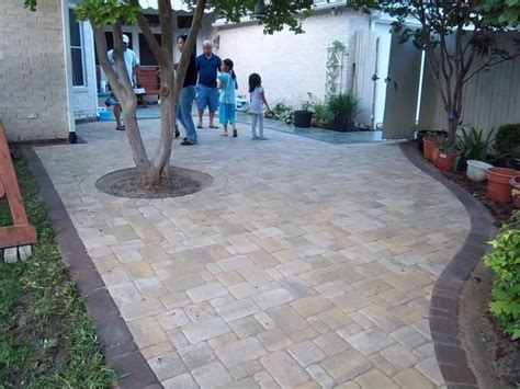 Patio With Pavers Pavers Patio After Jpg 800 215 600 Backyard Pinterest Patio Plans Walkways And Patios