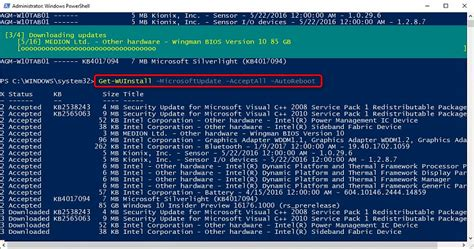 windows 10 powershell tutorial update and upgrade windows 10 using powershell windows 10