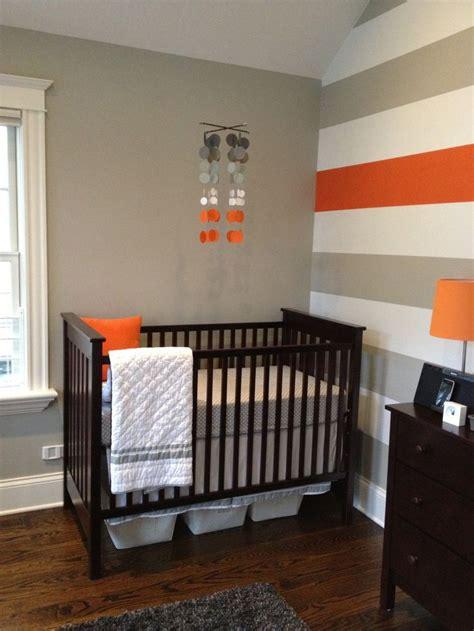 Small Grey Crib 25 Best Ideas About Orange Nursery On Small