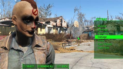 tattoo diamond city fallout 4 แนะนำแหล งต ดผมและเพ มรอยส กใหม ส ดเฟ ยวใน fallout 4 ให