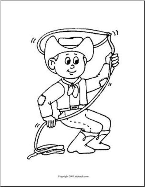 free coloring pages cowboy theme coloring pages western theme abcteach