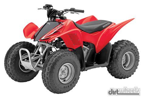Honda 50cc Atv by Dirt Wheels Magazine 2015 Youth Buyer S Guide