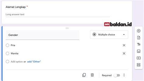 membuat google form  mudah  lengkap