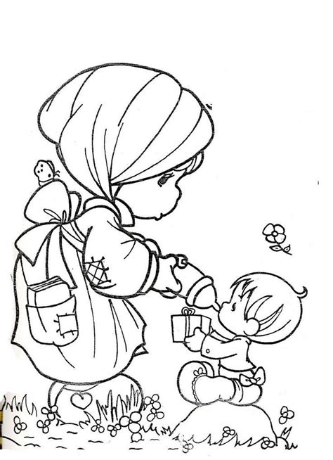 Precious Moments Nativity Coloring Pages precious moments nativity coloring pages coloring home