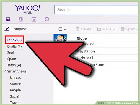 Can You Search By Email 3 Ways To Delete Yahoo Email Wikihow
