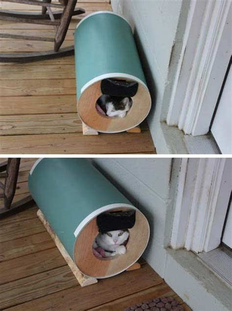 insulated outdoor cat house cat houses outdoor cat house even stray cats need love pets trends