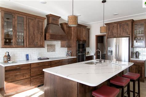 Cambria Kitchen Cabinets by Cambria Brittanicca Dark Cabinets Backsplash Ideas
