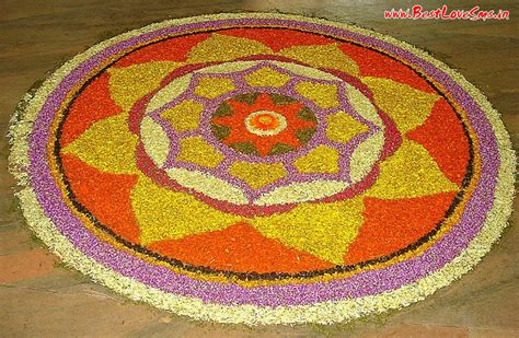 Handmade Rangoli Designs - beautiful rangoli designs with flowers quot anymessages