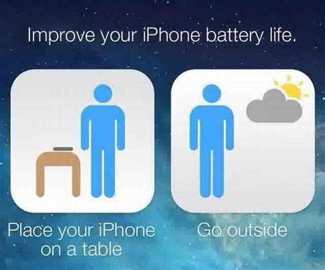 how to my to go outside how to improve yuor iphone battery