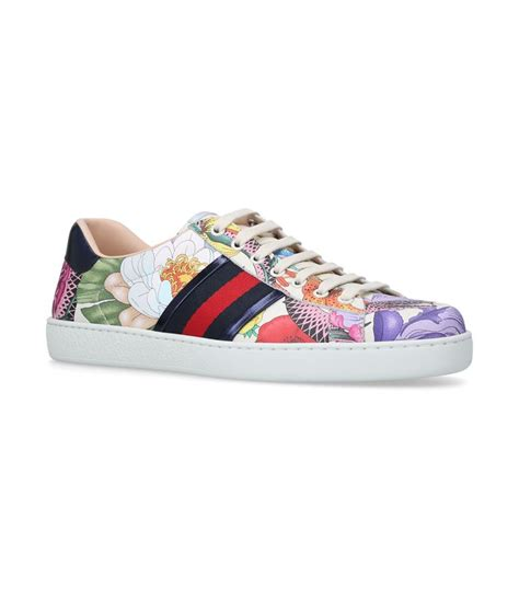 gucci flora sneaker gucci new flora ace sneakers harrods