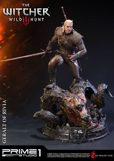witcher 3 figure the witcher 3 geralt of rivia statue by prime 1 studio