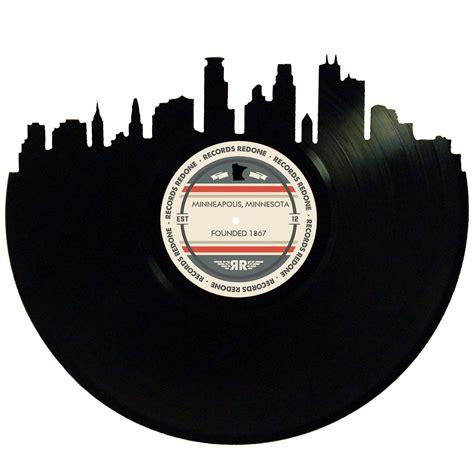 Minneapolis Records Minneapolis Skyline Records Redone Label Vinyl Record