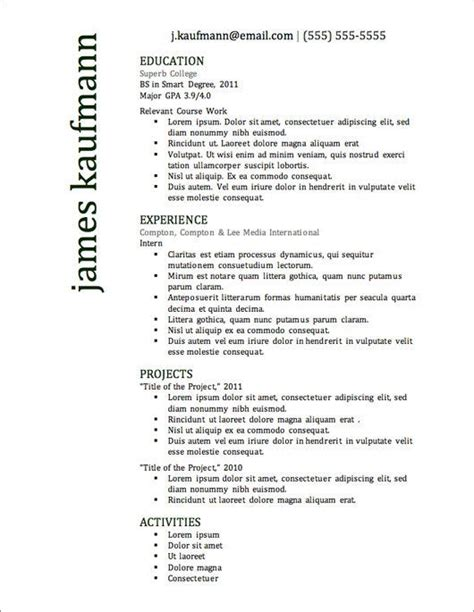 Insead Mba Cv Template by The 25 Best Resignation Letter Ideas On