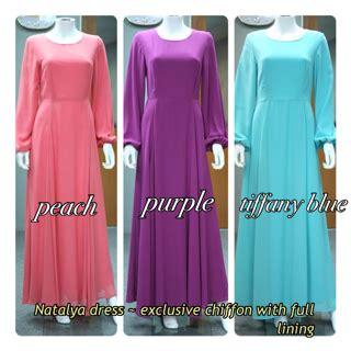 Dress Murah Sakela Maxi blushinbelle maxi dress chiffon murah dan cantik lining natalya