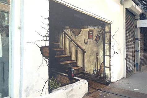Racks Ny by Rag Bone S New Mural Is A Trompe L Oeil Masterpiece