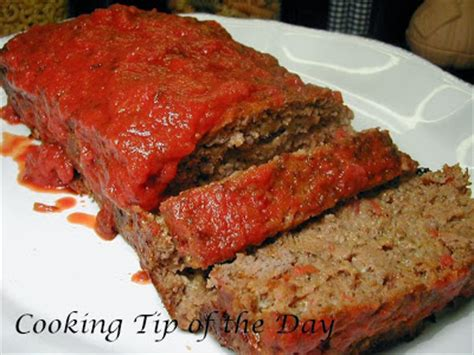 italian meatloaf a well seasoned kitchen cooking tip of the day italian meatloaf