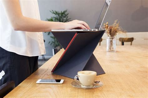 Levit8 Is An Affordable Flat Folding Portable Standing Portable Standing Desk