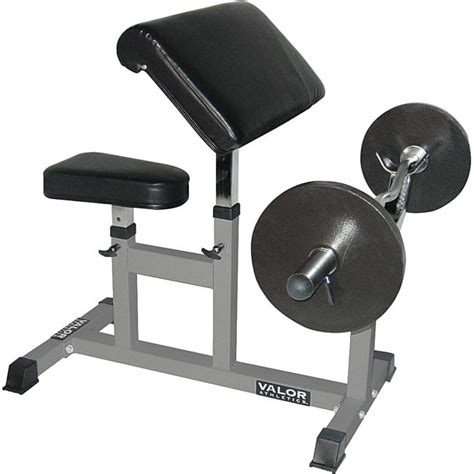 curl bench fitness equipment valor fitness arm curl bench free shipping today overstock com 11351652
