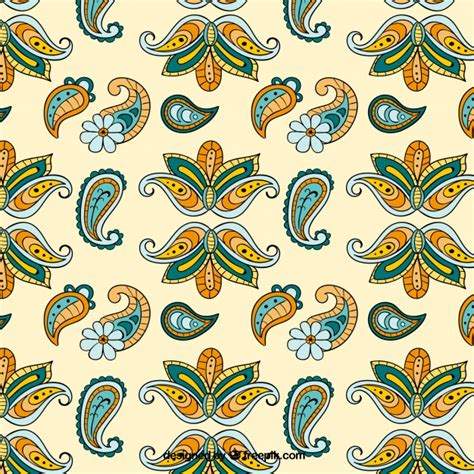 batik pattern vector ai elegant floral batik pattern vector free download