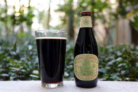 anchor merry christmas  happy  year  anchor brewing company