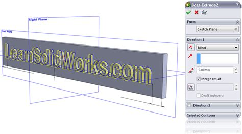solidworks tutorial extrude how to draw a text in solidworks learnsolidworks com