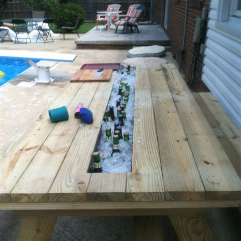 Cooler Picnic Table by The Picnic Table Cooler Food