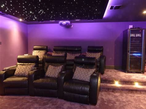 Single Garage Dedicated Home Cinema Room Installation Sevenoaks Kent