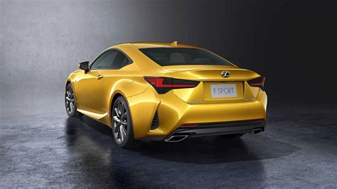 2019 Lexus Coupe by 2019 Lexus Rc Gets Updated With Sleeker Look Better