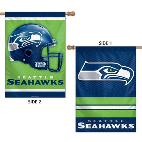 Seahawks House by Seattle Seahawks Two Sided House Banner Your Seattle