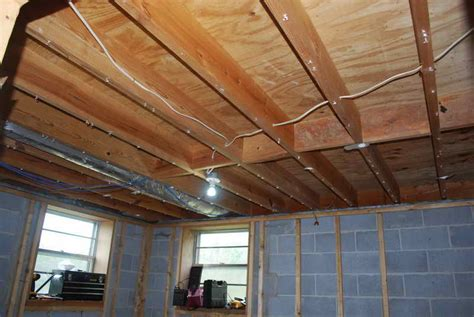 basement insulating basement ceiling insulating a