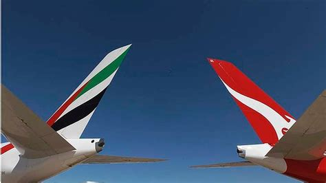 emirates alliance qantas emirates trans tasman alliance starts 14 august