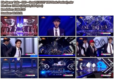 download mp3 exo growl instrumental download perf exo intro growl kbs music festival