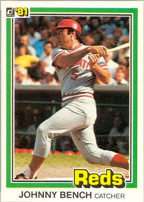 how much is a johnny bench baseball card worth how much is a johnny bench baseball card worth 28 images 2002 topps tribute baseball card in