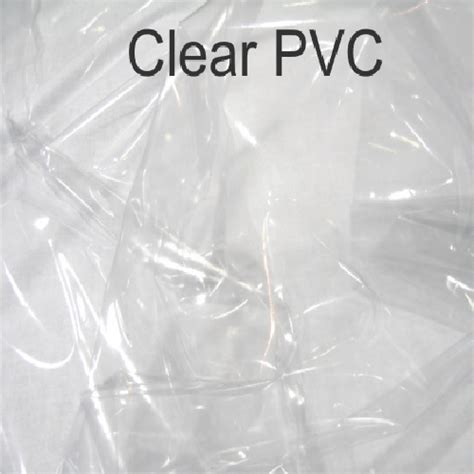 clear upholstery vinyl clear window pvc 640gsm 0 5mm fabric uk