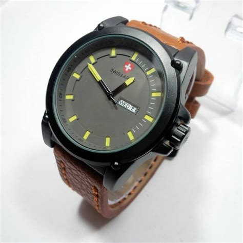 jual beli jual jam tangan pria swiss army baru jual