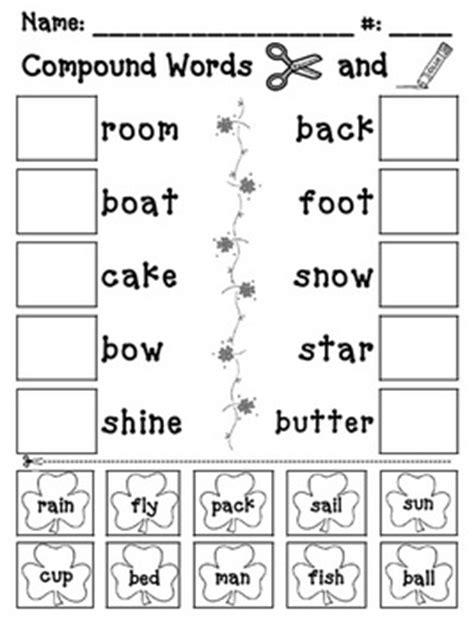 christmas compound words worksheet compound words worksheet 1st grade worksheets for all
