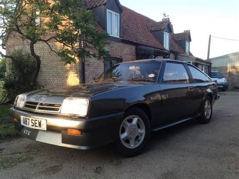 Opel Manta For Sale by Opel Manta Gt E Berlinetta Special Edition For Sale 1984