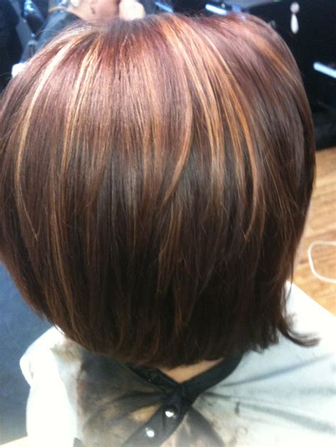 hair color pics highlights multi gorgeous brunette with multi color highlights hair
