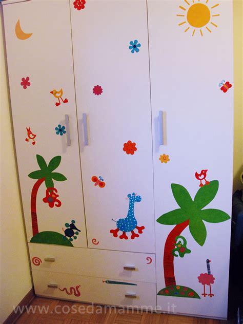 adesivi per mobili bambini adesivi per armadi bambini meraviglioso mondo della vita