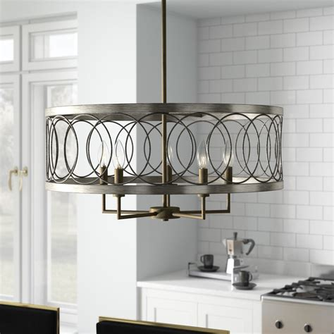 cliffside  light candle style drum chandelier reviews