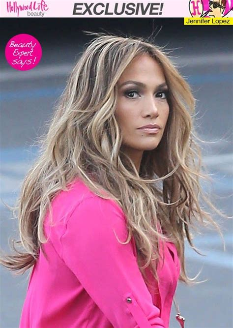 j lo american idol hairstyles jennifer lopez s stunning highlights what to ask your