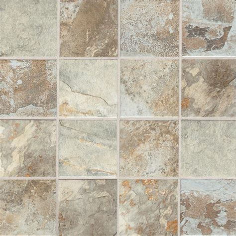 Menards Floor Tile by Slate Mosaic Floor Or Wall Porcelain Tile 3 Quot X 3