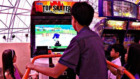 best skater boys vs top skater sega skateboarding arcade