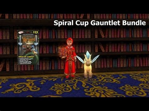 Winterbane Gauntlet Gift Card - wizard101 spiral cup gauntlet bundle gear wand and mount doovi
