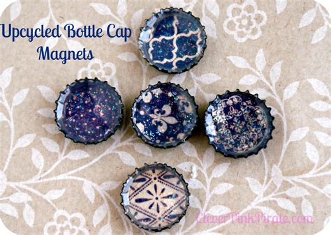 diy bottle cap magnets diy upcycled bottle cap magnets