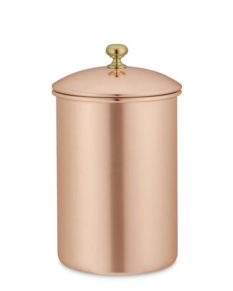 william sonoma canisters copper canister williams sonoma