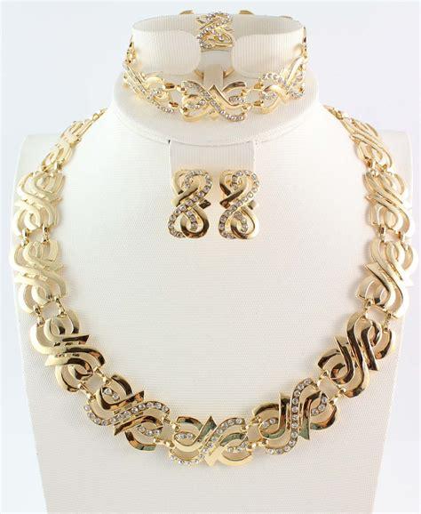gold jewelry aliexpress buy free shipping wedding gold jewelry