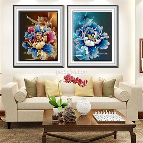 diamond home decor 5d diy cross stitch painting diamond sticker rhinestone