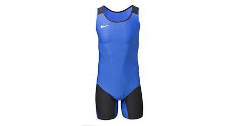 Nike Singlet nike weightlifting singlet blue rogue fitness